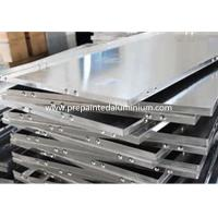 China 30-2500 mm Width Aluminium Plain Sheet For Reflector Lamps / Billboards / Signs wholesale