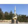 China Painted Bronze Urban Sculpture Garden Public Metal Outdoor Decoration wholesale