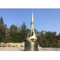 China Public Metal Outdoor Decoration , Painted Bronze Urban sculpture wholesale