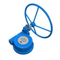 China Cast Steel WCB  Manual Valve Actuator Butterfly Valve Gearbox IP67 wholesale