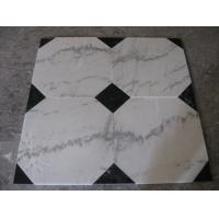 China Guangxi White Marble Floor Tiles,Chinese Carrara Marble White Marble Designed Indoor Flooring,White Marble Floor Stone wholesale
