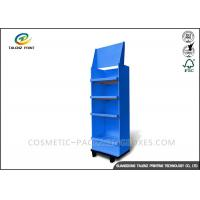 China Fashion Cardboard Display Stands Collapsible Type For Mobile Accessories wholesale