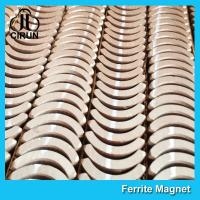China Custom Industrial Ceramic Ferrite Magnets Arc Shaped Y25 Y30 Y30BH Y35 Grade wholesale