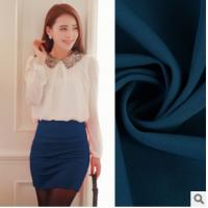 China Polyester Spandex Dyeing Twisting Luoma Bu style Knitting Stretch fabric skirt fashion wholesale
