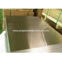 China Aluminum Mirror Sheet With Laminate / Polished / Anodized Surface Treatment wholesale