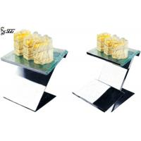 China Matte Hammered Surface Modern Wedding Cake Tier Stands , Tiered Buffet Stand on sale