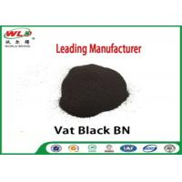 China Permanent Vat Dyes Black Bn Wool Fabric Dye Synthetic Organic Dyestuffs wholesale