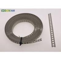 China Perforated Metal Fixing Band 10m Galvanized Steel With Color Powder Coated wholesale