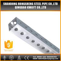 China perforated square sign post wholesale