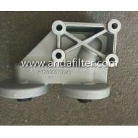 China High Quality Weichai Engine Oil Filter 612600070343 Seat for sell wholesale