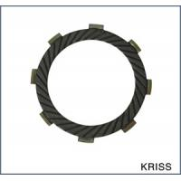 China Low noise motorcycle parts clutch friction disc plates with 8 teeth for Yamaha KRISS wholesale