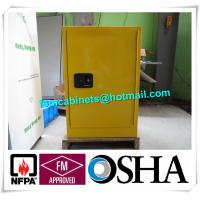 China Fire Resistant Industrial  Safety Cabinet , Flame Proof Storage Cabinets 20 Gallon wholesale