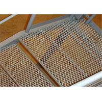 China Durable Stainless Steel Expanded Metal Mesh Staircase Non - Slip Steel Mesh wholesale