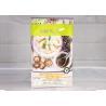China Frozen Food Packaging Bag Aluminum Foil Food Dumplings Eight Sided Sealed Flat Bag wholesale
