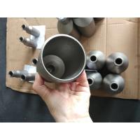 China Surface Finished Titanium Alloy Pipe Fittings Concentric Pipe Reducer ASME B16.9 wholesale