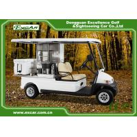 Buy cheap Curtis Controller 2 Person Mini Electric Utility Carts Higher Driving Ability from wholesalers
