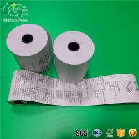 """China Premium 55gsm Thermal Printer Paper Roll  3 1/8""""X180 Static - Proof Recycled wholesale"""