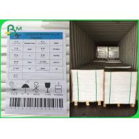 China FSC Certified UWF Uncoated Woodfree Paper 80 100 120gsm OBA Free In Sheets wholesale