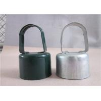 """China Metal Eye Top Line Post Caps 1-5/8""""×1-3/8"""" , Chain Link Fence Accessories wholesale"""