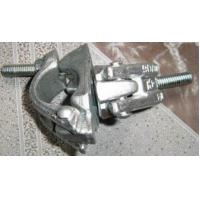 China Metal Scaffolding Frames Hot Zinc Dipping Forged Swivel Clamps / Forged Double Clamps wholesale