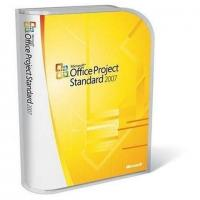 China English Microsoft Project License Standard 2007 Upgrade 1 PC Digital Download wholesale
