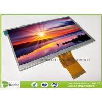 "China 7.0"" RGB Interface Lcd Display 800 X 480 , Wide View High Brightness LCD Module wholesale"