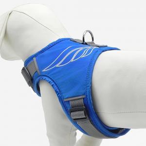 "China Soft Adjustable Snap Buckles Reflective 20"" Dog Walking Harness wholesale"