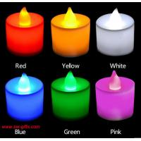 Quality Polypropylene Plastic Candle Shape LED Fliker Flameless Candles Light For Wedding Party for sale