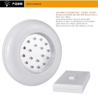 China Energy Saving Wireless LED Night Light Warm And Intelligent Motion Sensor wholesale
