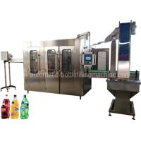 China Carbonated Soft Drink Filling Machine Equipment For Soda Factory Bottling Line on sale
