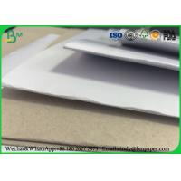 China Recycled Pulp C1S Coated Duplex Board Grey Back 23 * 36 For Clothing Tag wholesale