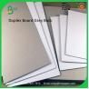 China 230gsm 250gsm 300gsm 400gsm 450gsm carton duplex board gray back wholesale
