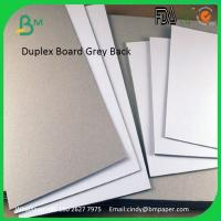 China 250gsm 300gsm 350gsm 400gsm 450gsm 787mm 889mm Clay Coated Board Grey Back wholesale
