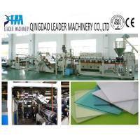 China 2100mm width PMMA acrylic sheet production line on sale