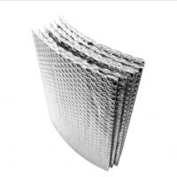 China China Aluminium Foil Double Bubble Insulation Foil Heat Barrier Insulation Material for Building wholesale