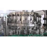 Soda Water / Carbonated Soft Drink Production Line Stainless Steel 380V 50Hz