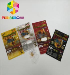 China Premierzen Blister Card Packaging Custom Child Resistant Botton Lock 3D Card Paper Box wholesale