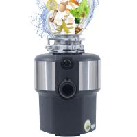 China DSW New 1 HP Kitchen Food Garbage Processor Disposal Crusher AC motor white color with remote control wholesale
