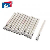China Glass Drill Bit Ceramic Tile Hole Saw Hex / Round Shank Zinc Coated Surface wholesale
