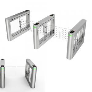 China SUS304 Stainless Steel Turnstiles Swing Gate Turnstile 900mm Width For Wheelchair wholesale