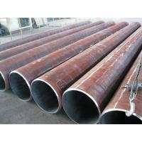 China Round Welded LSAW Steel Pipe , Longitudinal Submerged Arc Welding Pipe 60mm - 3500mm wholesale