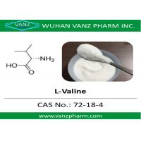 Buy cheap 99 HPLC amino acid cas 72-18-4 l-valine Natural Health Supplements from wholesalers