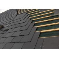 China Ink Black Slate Roof Tiles Chinese Weathering Roof Slates Lightweight Roof Tiles wholesale