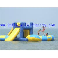 China Commercial Adult Inflatable Water Park Games , Inflatable Water Slide wholesale