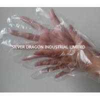 China Embossed Disposable gloves, Food grade,Size S,M,L wholesale