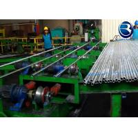China Type 168 GI Water Pipe Automatic Pipe Threading Machine With 65kw Total Installed Power on sale