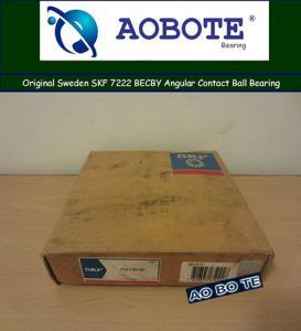 China Miniature Single Row Angular Contact Ball Bearing SKF 7222 BECBY wholesale