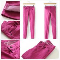 China Brand Gap women skinny jeans slim legging in rose cheap fashion low-rise trousers Malaysia inventory stock wholesale