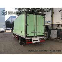 China ISUZU 15ft 1-4 Ton 6 Wheel Refrigerated Delivery Truck For Meat And Fish wholesale