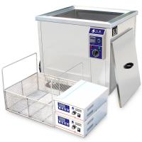 China 300L Industrial Ultrasonic Cleaner / Oil Filter Large Ultrasonic Cleaner FOR Metal Plastic Radiators wholesale